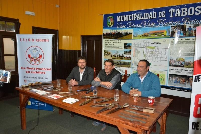 La Fiesta del Cuchillero 2017 se presentó y promociono en el Paraná campaña