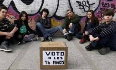 Voto a partir de los 16 años