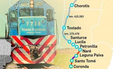 Multiplicarán por cuatro el uso de trenes para el transporte de carga