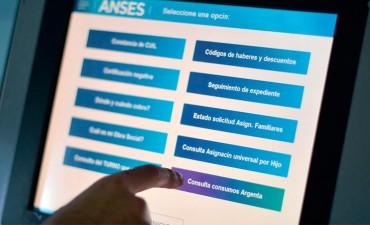 Terminales de consulta de Anses registraron más de 3 millones de gestiones