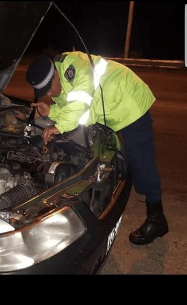 Ruta 127: Secuestraron un auto robado en 2013