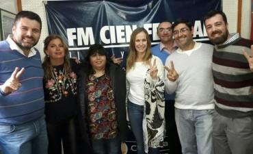 Mayda Cresto y Claudia Giecco recorrieron Federal