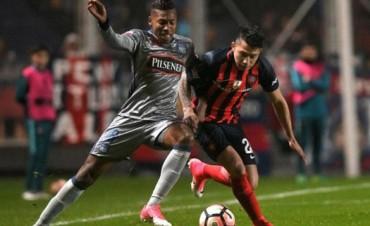 San Lorenzo pasó con sufrimiento a los cuartos de final de la Copa Libertadores