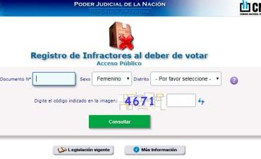 Quien no votó durante las PASO puede justificarlo por internet: Cómo hacerlo