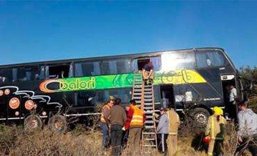 Un micro con jubilados de Entre Ríos se accidentó en San Luis: Hay 30 heridos