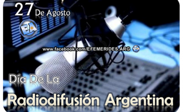 DIA DE LA RADIODIFUSION ARGENTINA.