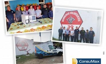 ConsuMax  junto a Bomberos Voluntarios en el mes de la Solidaridad