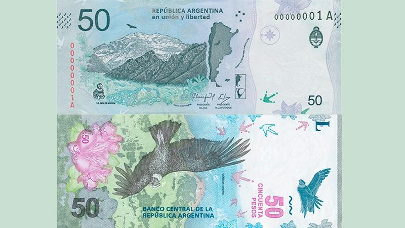 El nuevo billete de $ 50 comienza a circular : Las medidas de seguridad