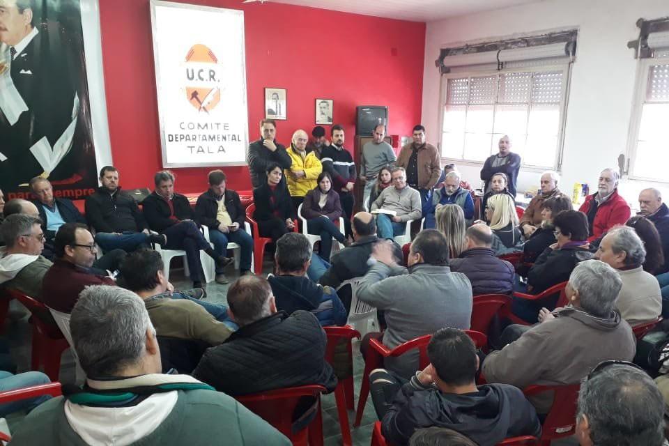 Lacoste será candidato a conducir la UCR Entre Ríos