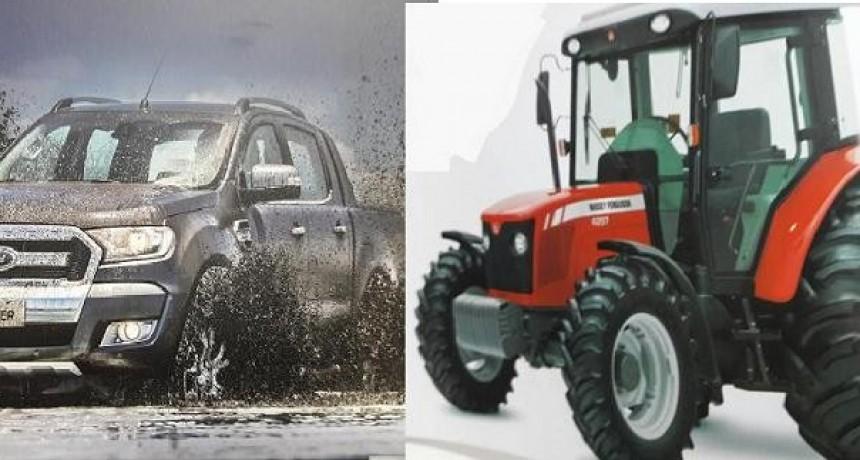 Municipio de Bernardi suscribió plan de ahorro para la compra de camioneta y tractor