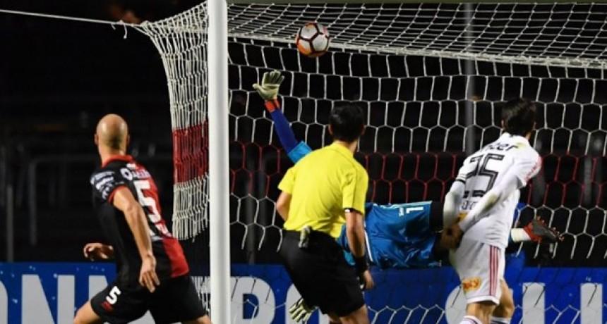 Colón logró un histórico triunfo ante San Pablo en Brasil