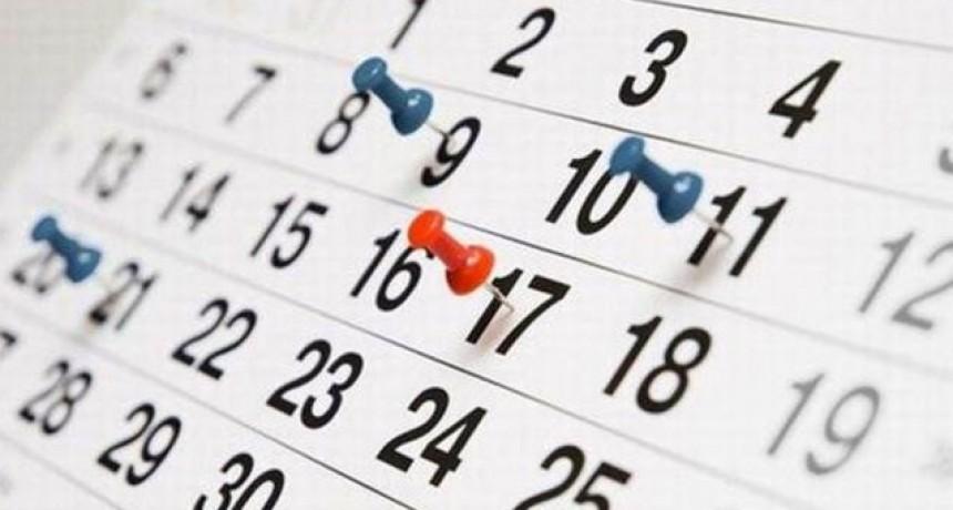 ¿Cuándo será el próximo fin de semana largo?