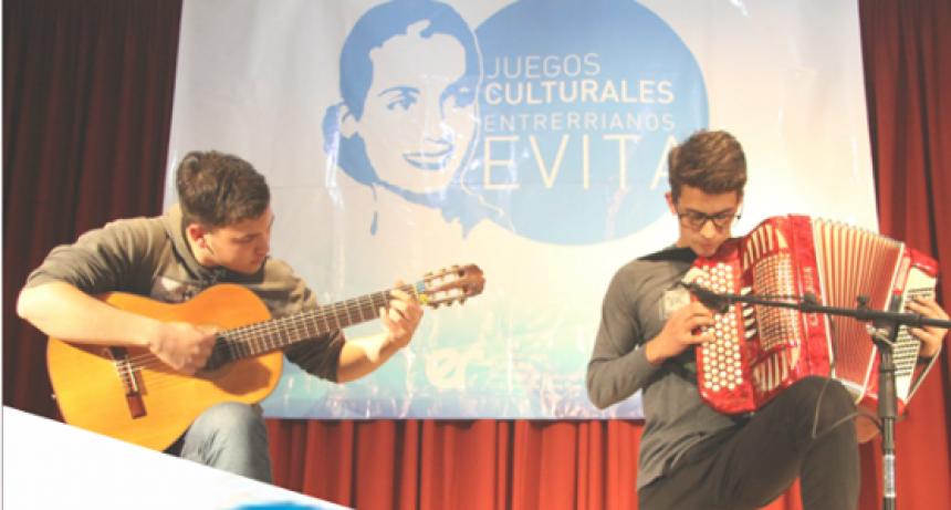 JUEGOS CULTURALES ENTRERRIANOS EVITA 2018