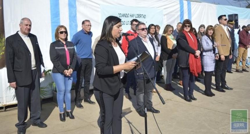 Se realizo el Acto Oficial por el 168 Aniversario del paso a la inmortalidad del Gral San Martin