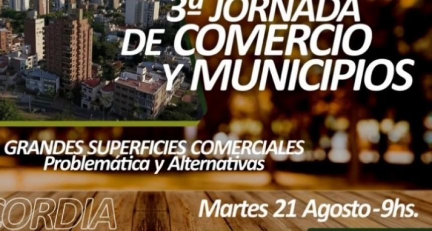 EL VICEINTENDENTE PARTICIPÓ DE LAS TERCERAS JORNADAS DE COMERCIO Y MUNICIPIOS EN CONCORDIA