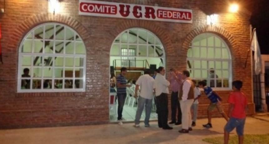 LA UCR DE FEDERAL CONDENA HECHOS DE CORRUPCIÓN EN EL MUNICIPIO LOCAL