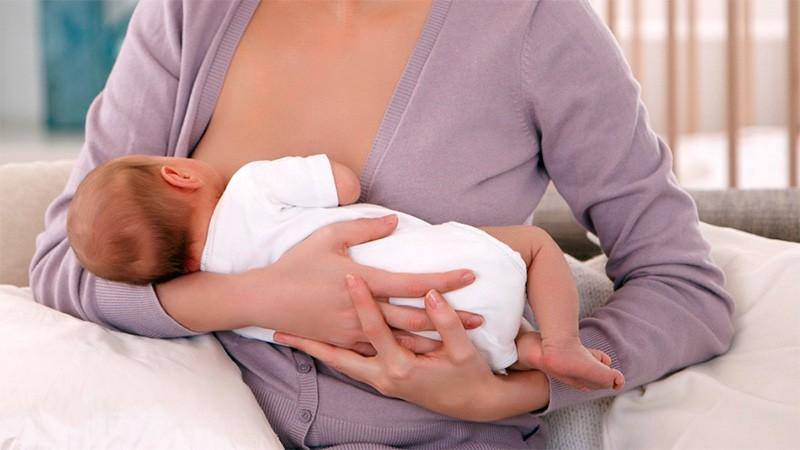 Sólo el 40% de los lactantes menores de seis meses reciben leche materna