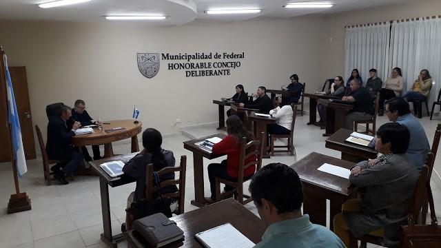 Nueva sesion ordinaria del Concejo Deliberante