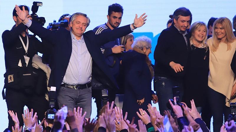 Amplio triunfo de Alberto Fernández: Sacó 3,7 millones de votos más que Macri