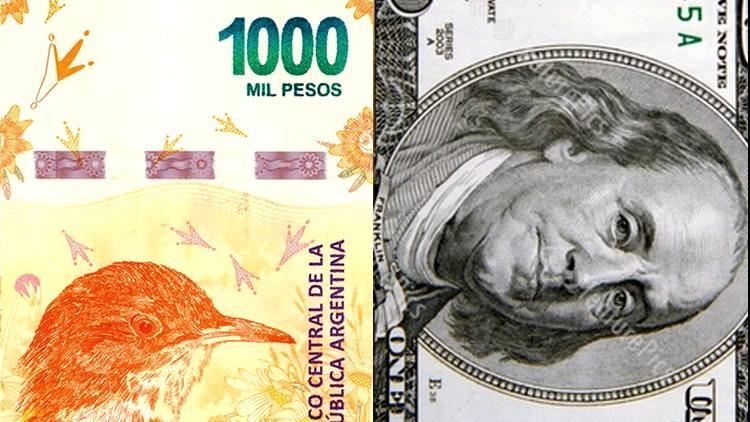En menos de dos años, el billete de 1000 ya perdió más del 70 por ciento de su valor en dólares