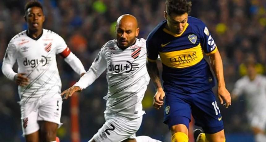 Copa Libertadores: Boca le ganó a Athlético Paranaense y avanzó a cuartos