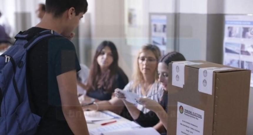 Más de 1 millón de entrerrianos están habilitados para votar