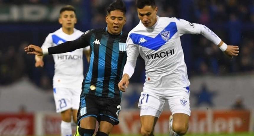 Racing reaccionó y rescató un empate ante el Vélez de Heinze, que sigue sin ganar