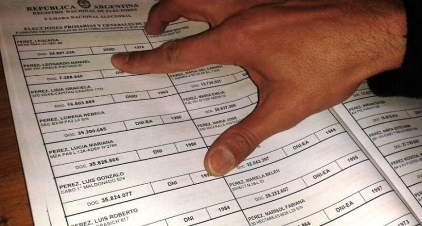 Inicia el pago a las autoridades de mesa de las elecciones provinciales