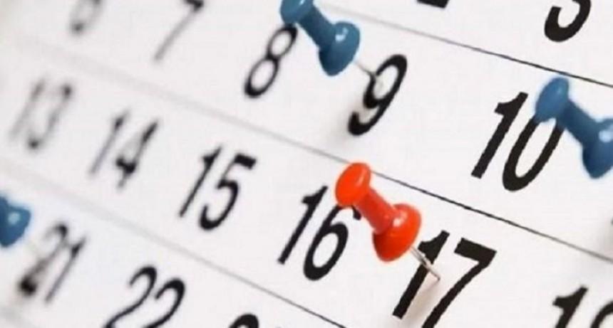 Calendario 2019: ¿es feriado puente el lunes 19 de agosto?