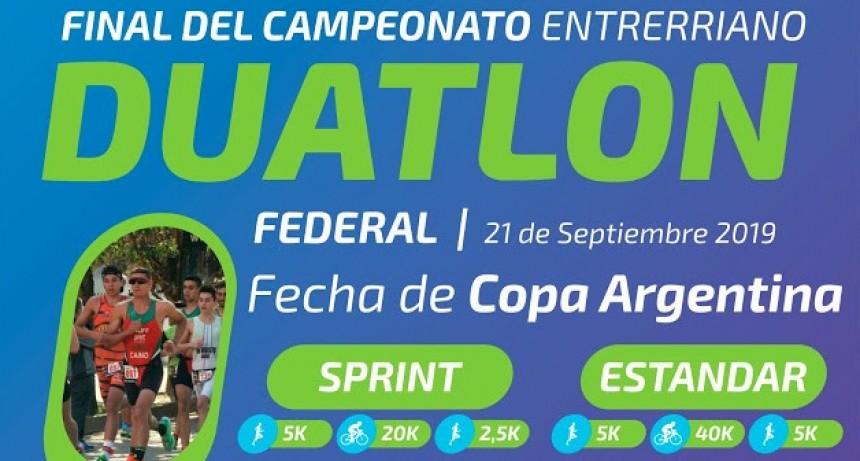 Final del Campeonato Entrerriano de Duatlon
