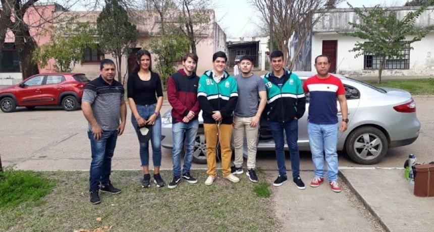 Delegación estudiantil de la Escuela Técnica participo de las Olimpiadas de las construcciones