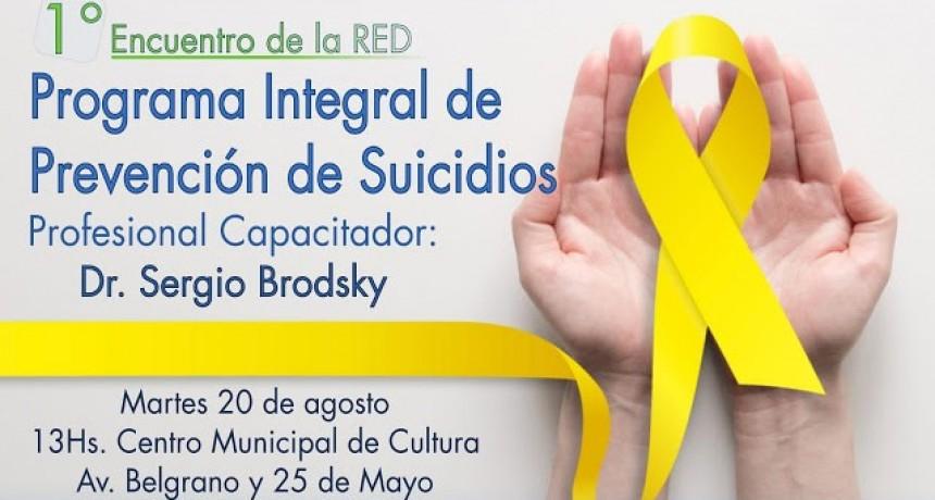 Primer encuentro de la Red : Programa Integral Prevención de Suicidios