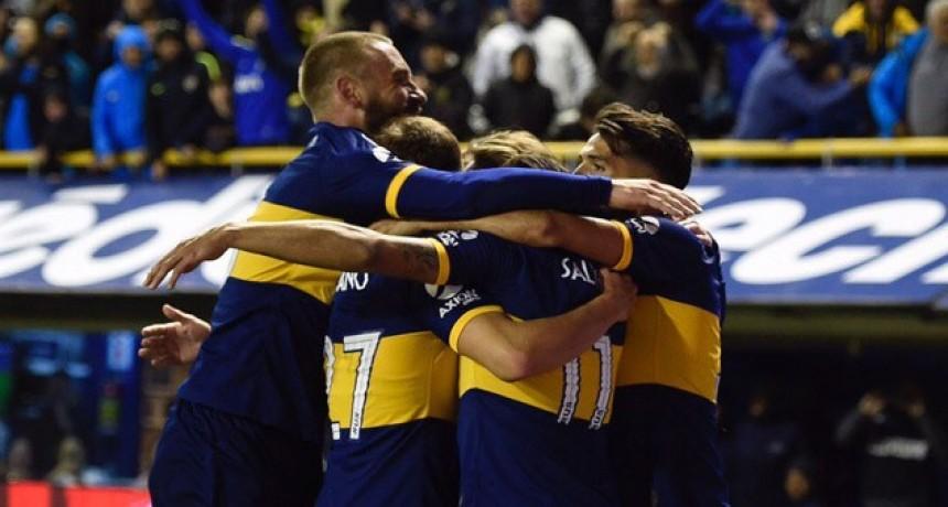 Boca se impuso por 2 a 0 ante Aldosivi en La Bombonera y se acercó a la cima