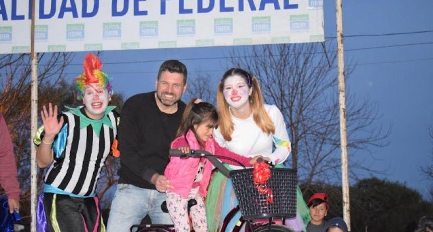 En el camping municipal se festejo el Día del Niño