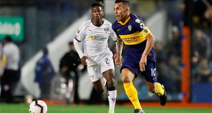 Copa Libertadores: Boca empató sin goles con Liga de Quito y clasificó a semifinales