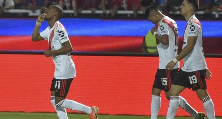 River igualó 1 a 1 ante Cerro Porteño y está en la Semifinal de la Copa Libertadores