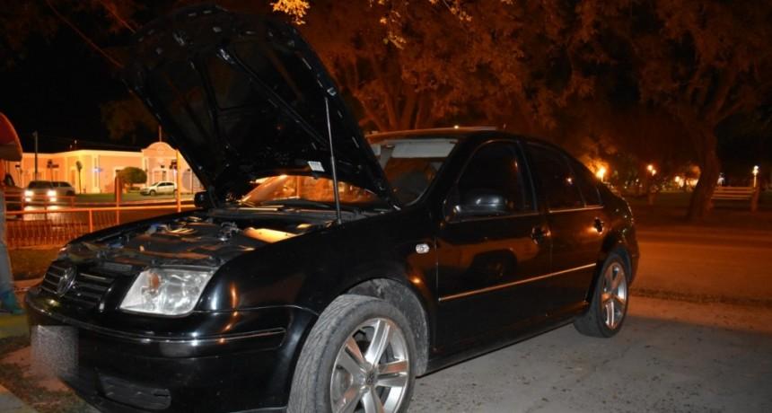 Secuestro de vehículo por parte de personal policial de Sauce de Luna