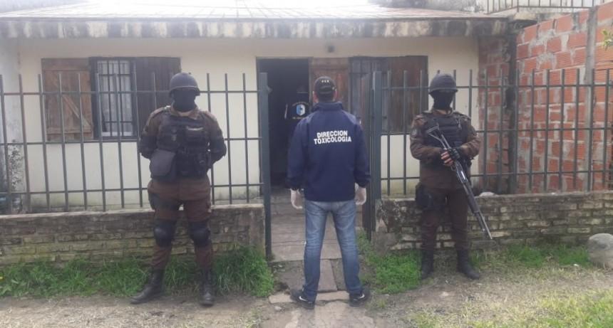 Incautaron drogas, armas, dinero y hasta una embarcación tras múltiples allanamientos en Entre Ríos. Participo personal especial de Federal