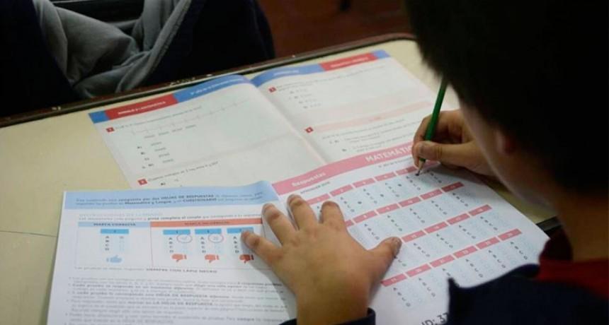 El martes se realizará en todas las escuelas la evaluación nacional
