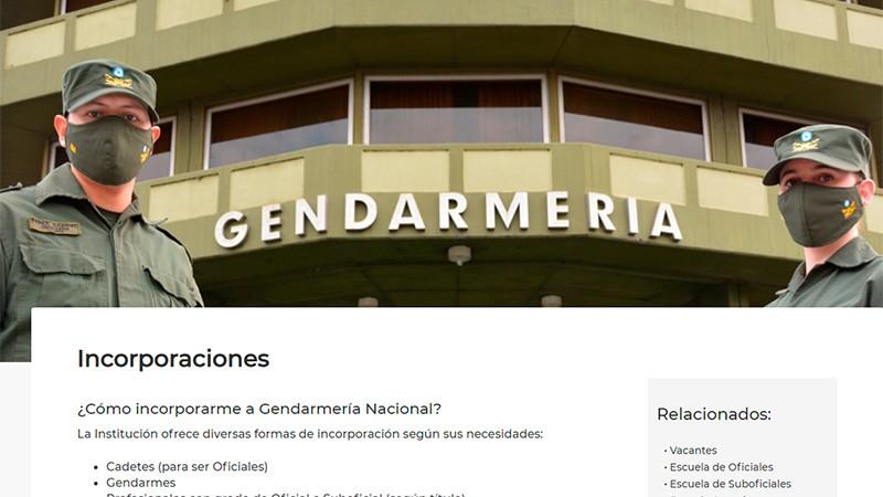 Abrieron la inscripción de ingreso a Gendarmería y quedan 20 días para anotarse