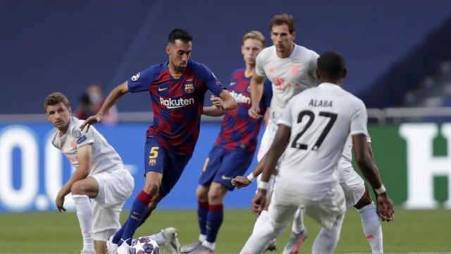 Bayern Múnich goleó 8 a 2 al Barcelona y está en la Semifinal de la Champions League