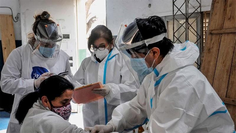 Confirmaron 283 muertes y 6.693 nuevos contagios en Argentina