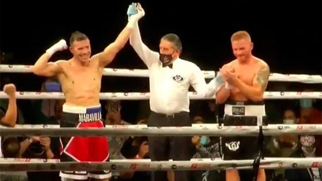 En su vuelta al boxeo, Maravilla Martínez le ganó al español Fandiño