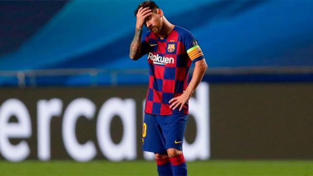 Lionel Messi informó que quiere irse del Barcelona