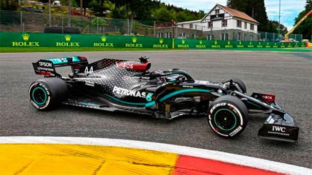 Fórmula 1: Hamilton se llevó la victoria de punta a punta en Bélgica