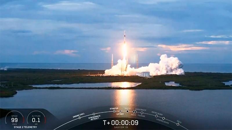 El satelite argentino Saocom 1B fue lanzado con éxito desde Estados Unidos