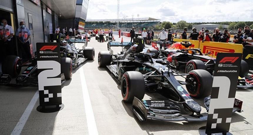 Fórmula 1 en Silverstone: Hamilton, pole y récord en un nuevo dominio de Mercedes