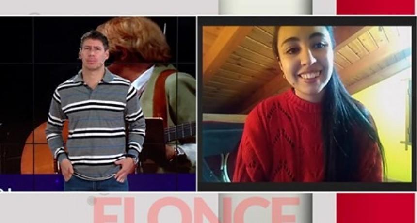 Desde Federal : Joven entrerriana deleita con su voz