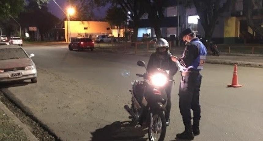Se continúan con los operativos de control en ésta ciudad y demás localidades del departamento