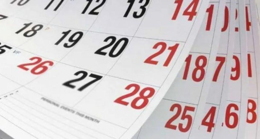 ¿Cuántos feriados tiene agosto?